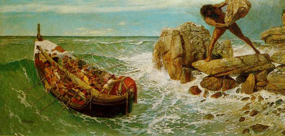 Odysseus-and-Polyphemus-by-Arnold-Bocklin